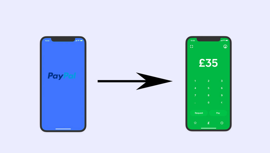 How to transfer money from PayPal to Cash App?